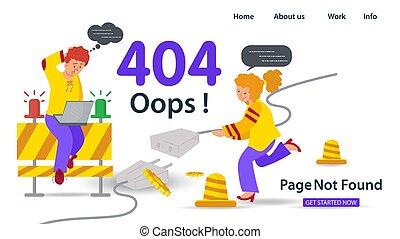 apps, pasas, lakás, eltévelyedés, birtok, hopp!, nem, mozgatható, websites, 404, oldal, hiba, anner, ülés, összeköttetés, probléma, leány, ábra, laptop, internet, vektor, alapít, kábel