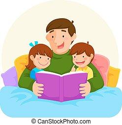 apuka, sztori, lefekvés ideje