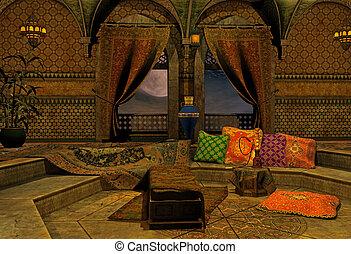 arab, éjszaka