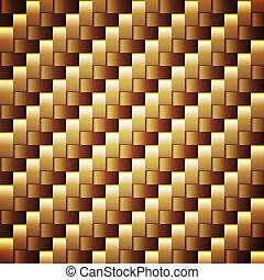arany-, derékszögben, seamless, vektor, úszóhártyás, texture.