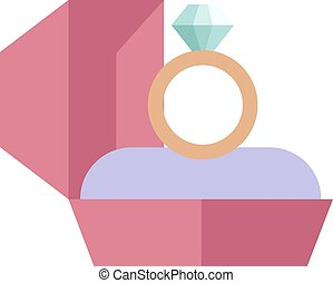 arany-, elszigetelt, háttér, jegygyűrű, fehér