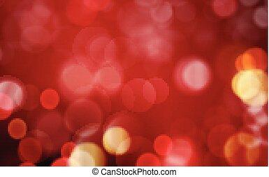 arany-, elvont, sötét, állati tüdő, háttér, blurres, piros