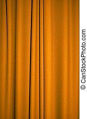 arany-, függöny