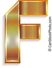 arany, f, fém, -, levél, szalag