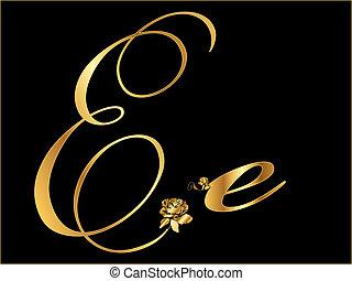arany-, kelet, levél