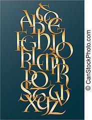 arany-, longobárd, abc