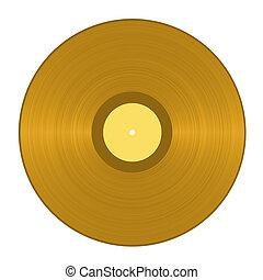 arany-, vinyl hanglemez