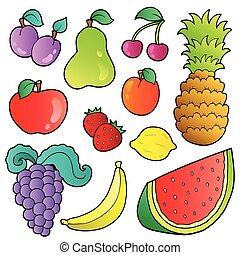 arcmás, gyűjtés, gyümölcs