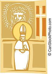 arcmás, keresztény, pápa