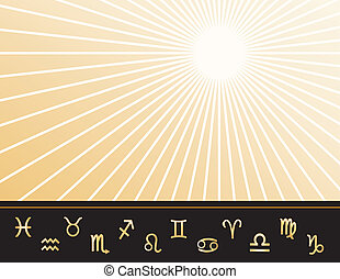 asztrológia, poszter