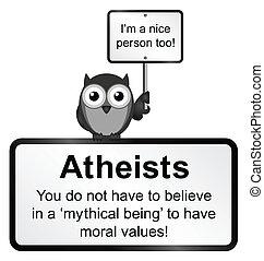 atheist, emberek