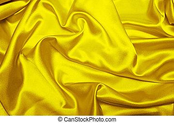 atlaszselyem, sárga