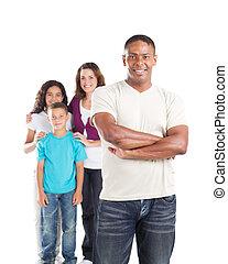 atya, család, boldog