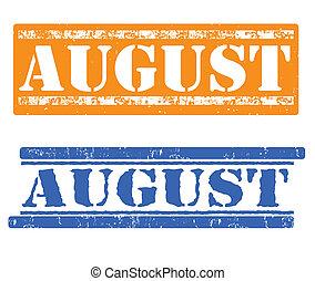 augusztus, topog