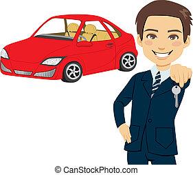 autó, eladó, fiatal