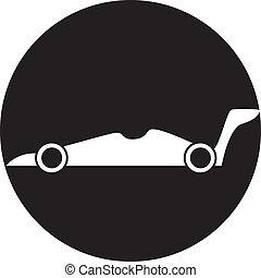 autó, ikon