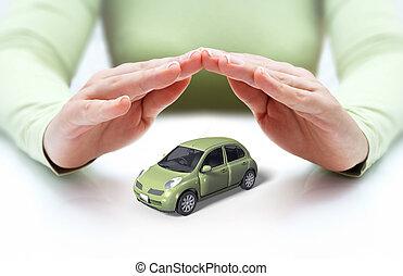 autó, kézbesít, biztonság, -e, -, fedő