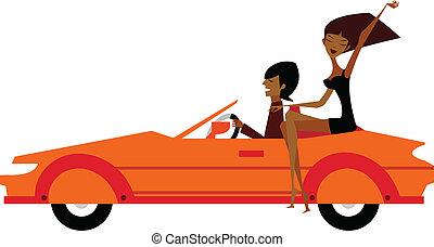 autó, párosít