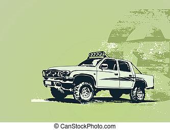 autó, szüret