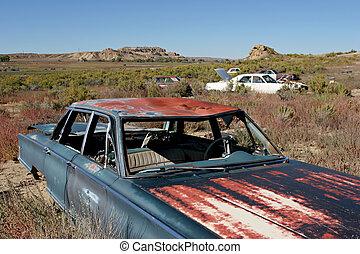 autó, temető