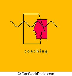 autóbusz, edző, ikon