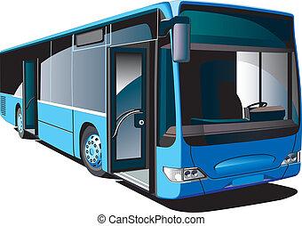 autóbusz, modern