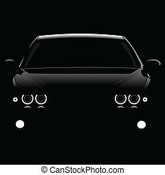autók, árnykép