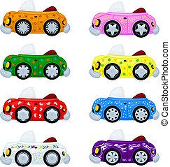 autók, karikatúra