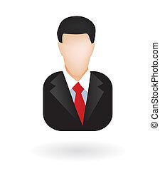 avatar, üzletember, ügyvéd