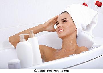 bágyasztó, fürdőkád