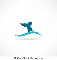 bálna frakk, ikon