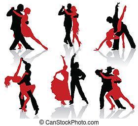 bálterem, dances., tangó