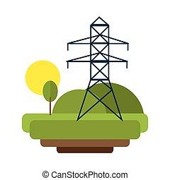 bástya, elektromos energia, természet