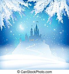 bástya, karácsony, tél