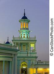 bástya, mecset