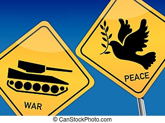 béke, háború