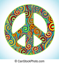 béke, színes