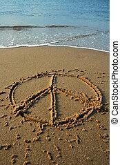 béke, tengerpart