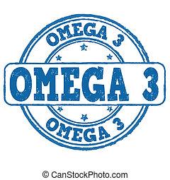 bélyeg, 3, omega