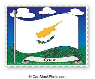 bélyeg, ciprus