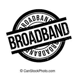 bélyeg, gumi, broadband