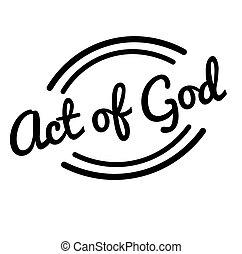 bélyeg, isten, fekete, cselekedet