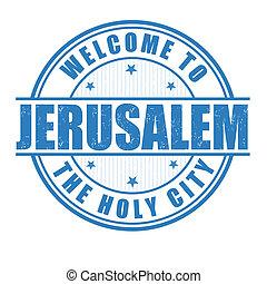 bélyeg, jeruzsálem, fogadtatás