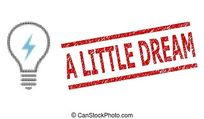 bélyeg, kevés, halftone, álmodik, elektromos, lehangol, pontozott, gumó