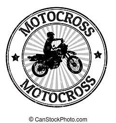 bélyeg, motokrossz