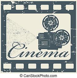 bélyeg, mozi