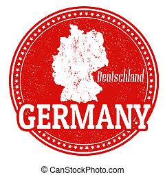 bélyeg, németország