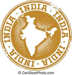 bélyeg, ország, india
