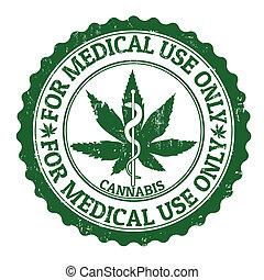 bélyeg, orvosi, marihuána