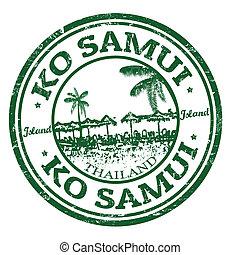 bélyeg, samui, kiütés